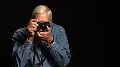 Ted Grant with Camera